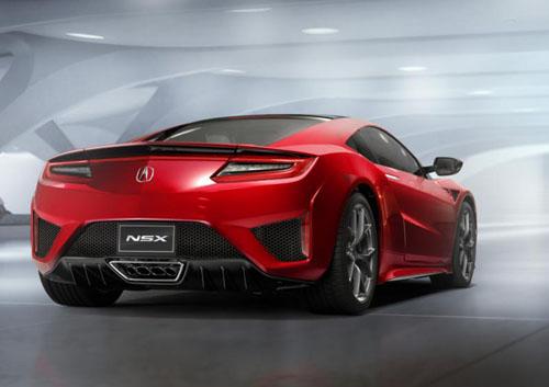 Xế sang Acura NSX chính thức trình làng - 11