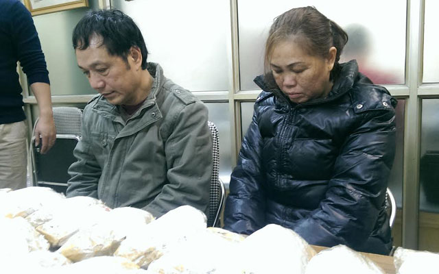 """Cảnh sát Hà Nội bắt vụ nhập lậu vàng """"khủng"""" hơn 30kg - 1"""