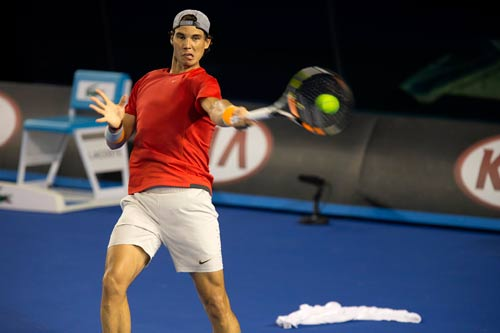Nadal, Djokovic... ráo riết tập luyện tại Úc - 1