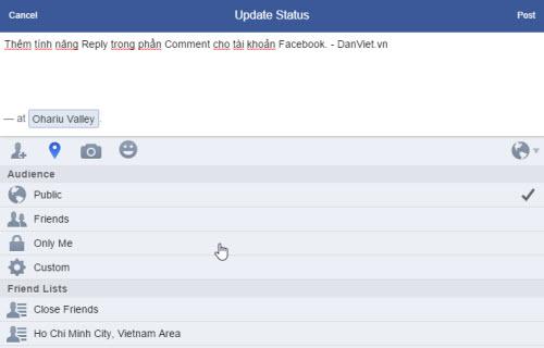 Mẹo Facebook: Tự thêm tính năng Reply vào phần bình luận - 6