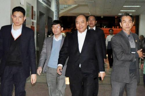 Phó Thủ tướng Nguyễn Xuân Phúc thăm ông Nguyễn Bá Thanh