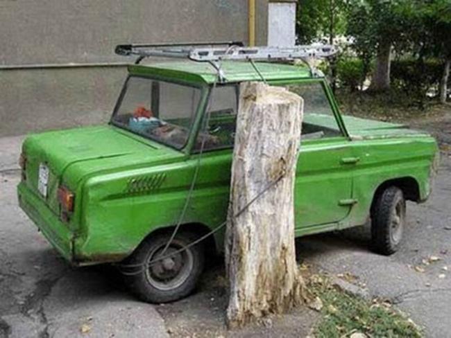 """Những chiếc """"xích"""" ô tô siêu hài hước - 5"""