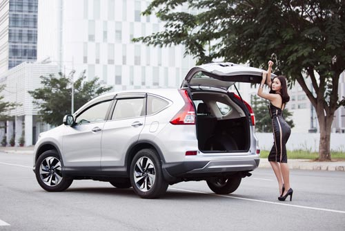 Honda CR-V phiên bản mới 2015: Rạng danh vị thế! - 4