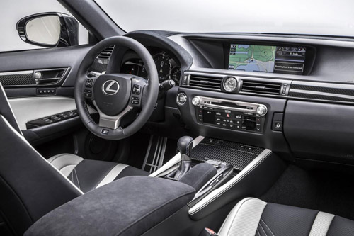 Lexus GS F trình làng: BMW M6 hãy dè chừng - 5