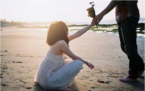 Thư tình: Yêu anh trong im lặng