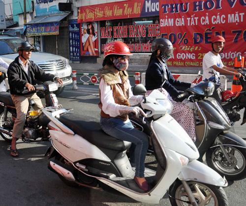 Sài Gòn lạnh nhất trong 10 năm nay - 7