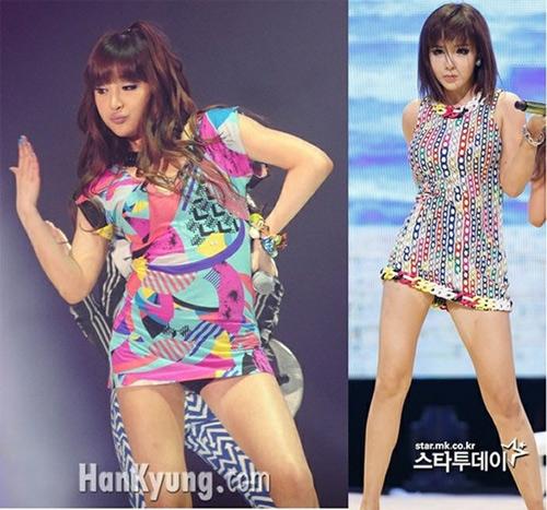 Những màn giảm cân bất ngờ của ca sĩ Hàn Quốc - 1