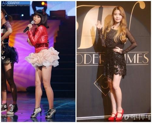 Những màn giảm cân bất ngờ của ca sĩ Hàn Quốc - 7