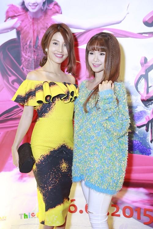 Trương Thế Vinh cùng bạn gái phi công dự ra mắt phim - 5
