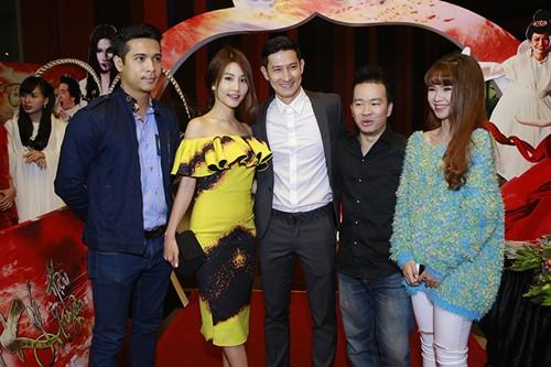 Trương Thế Vinh cùng bạn gái phi công dự ra mắt phim - 9