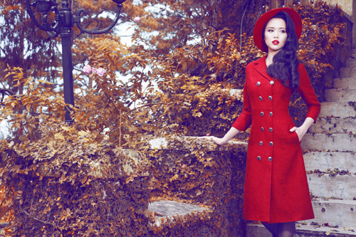Ngọc Anh khéo khoe đường cong với quần áo mùa đông - 6