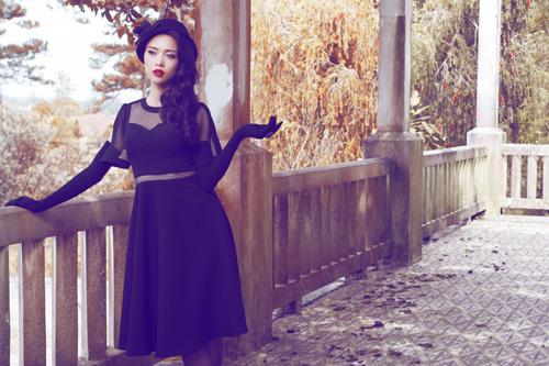 Ngọc Anh khéo khoe đường cong với quần áo mùa đông - 7
