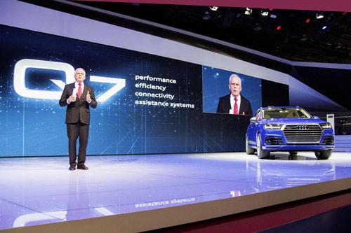 Audi Q7 2015 lĩnh ấn tiên phong tại Detroit - 3