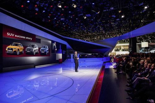 Audi Q7 2015 lĩnh ấn tiên phong tại Detroit - 5