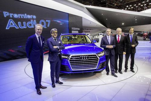 Audi Q7 2015 lĩnh ấn tiên phong tại Detroit - 2