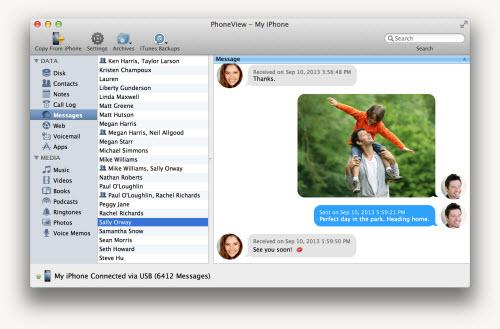 PhoneView: Sao lưu dữ liệu giữa iPhone, iPad, iPod và MacBook - 2