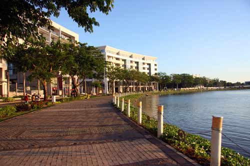 Wi-Fi miễn phí ở TP.HCM: Đã phủ sóng Hồ Bán Nguyệt - 1