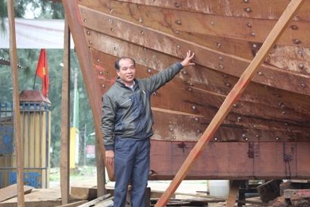 """Ngắm """"tàu 67"""" vỏ gỗ đầu tiên của ngư dân TT-Huế - 1"""
