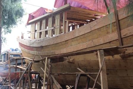 """Ngắm """"tàu 67"""" vỏ gỗ đầu tiên của ngư dân TT-Huế - 10"""