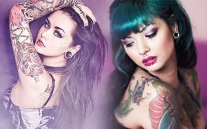 5 mỹ nữ xăm trổ gốc Á gợi cảm nhất thế giới
