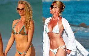7 mỹ nhân U60 mặc bikini khiến thiếu nữ phải ghen tị