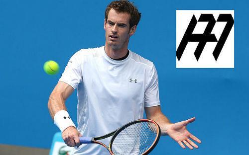Tiếp bước đàn anh, Murray ra mắt logo cá nhân - 1