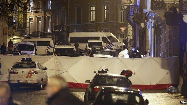 """Cảnh sát Bỉ giết """"2 nghi phạm khủng bố Hồi giáo"""" - 4"""