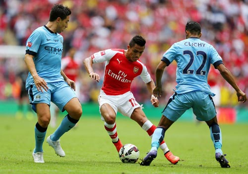 NHA trước V22: Thư hùng Man City - Arsenal - 1