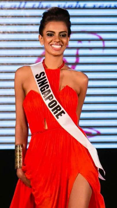 Thiết kế Việt xuất hiện tại Hoa hậu Hoàn vũ 2015 - 2