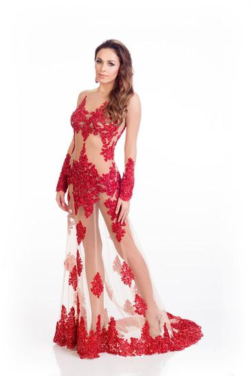 Những bộ váy dạ hội thất bại tại Hoa hậu Hoàn vũ 2015 - 5