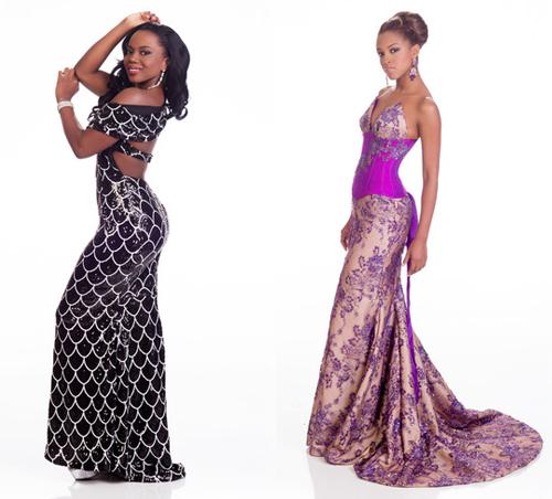 Những bộ váy dạ hội thất bại tại Hoa hậu Hoàn vũ 2015 - 4