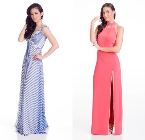 Những bộ váy dạ hội thất bại tại Hoa hậu Hoàn vũ 2015 - 8