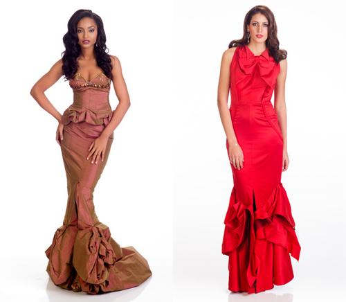 Những bộ váy dạ hội thất bại tại Hoa hậu Hoàn vũ 2015 - 9