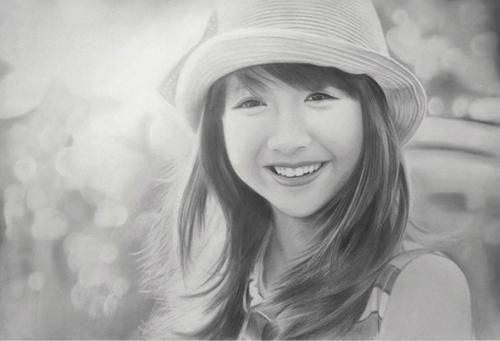 Nhan sắc hot girl Việt dưới nét vẽ của họa sỹ 9x - 7