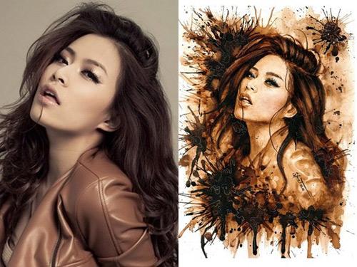 Nhan sắc hot girl Việt dưới nét vẽ của họa sỹ 9x - 12