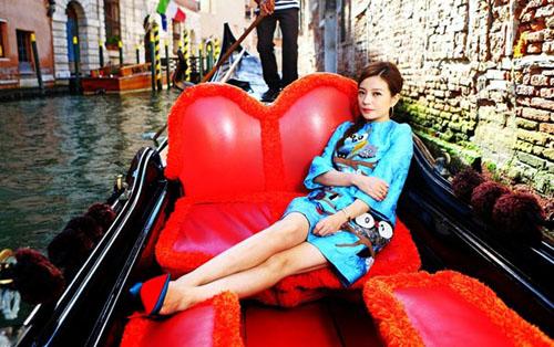 """Triệu Vy trở thành """"biểu tượng thời trang"""" Trung Quốc - 2"""