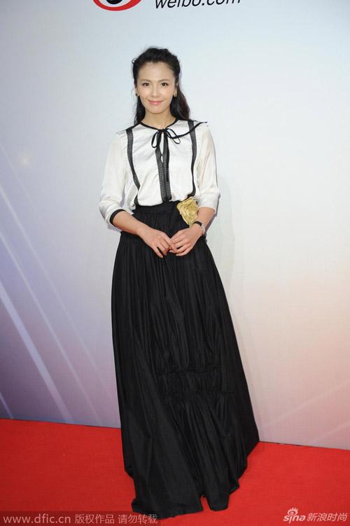 """Triệu Vy trở thành """"biểu tượng thời trang"""" Trung Quốc - 11"""