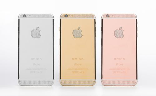 iPhone 6 đính kim cương, mạ vàng giá trên tỷ đồng - 1