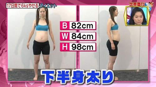 Mỹ nữ Nhật giảm hơn 16 cm vòng eo chỉ trong 1 tháng - 3