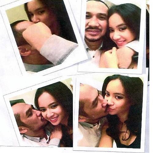 Hoa hậu Indonesia phủ nhận vụ lộ ảnh thân mật - 1