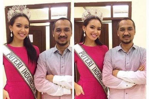 Hoa hậu Indonesia phủ nhận vụ lộ ảnh thân mật - 3
