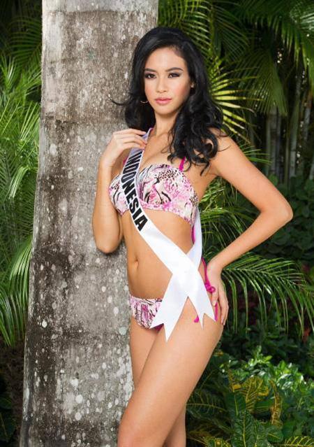 Hoa hậu Indonesia phủ nhận vụ lộ ảnh thân mật - 7