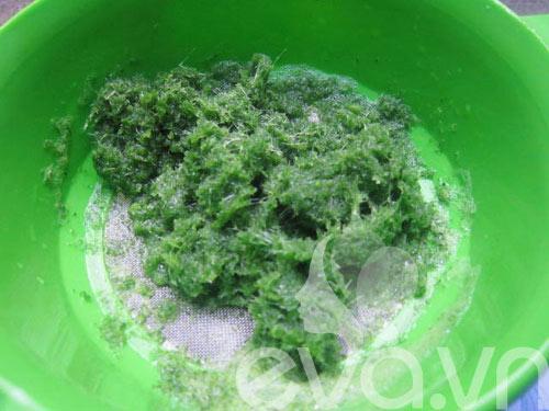 Mứt dừa xanh lạ mắt nhờ lá dứa - 4