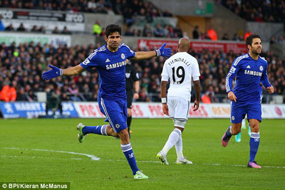 TRỰC TIẾP Swansea - Chelsea: Không thể chống đỡ (KT) - 4