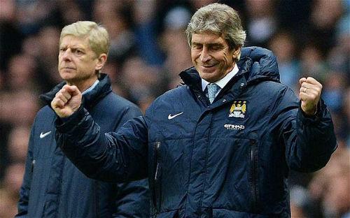 Wenger không sợ Man City, Pellegrini chẳng lo Arsenal - 1