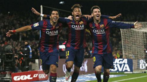 """Deportivo - Barca: """"Đại pháo"""" Messi, Neymar, Suarez - 1"""