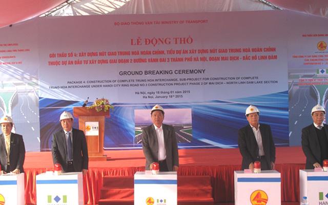 HN: Hơn 1.000 tỷ đồng xây hầm qua đại lộ Thăng Long - 1