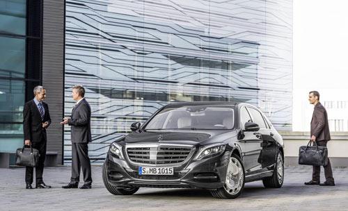 Công bố giá Mercedes-Maybach S600 - 1