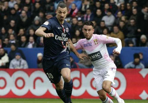 PSG – Evian: Rượt đuổi thót tim - 1