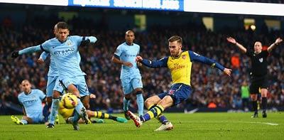 TRỰC TIẾP Man City - Arsenal: Giroud lập công (KT) - 5